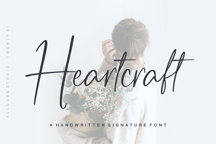 Web Font - Heartcraft example image 1