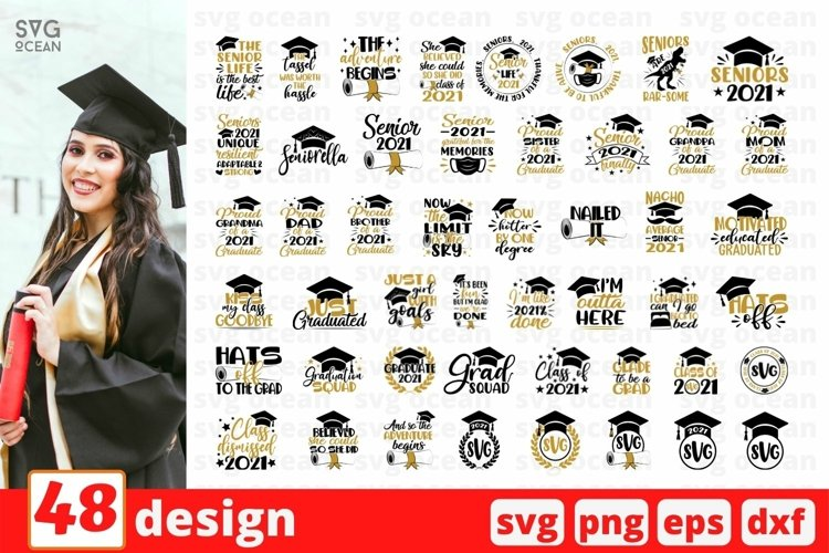 Graduation SVG Bundle | Senior Cut File | Student