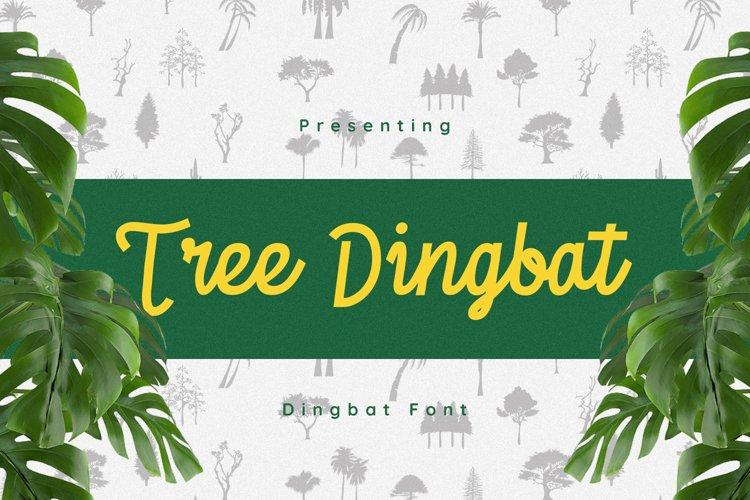 TreesDingbat Font example image 1