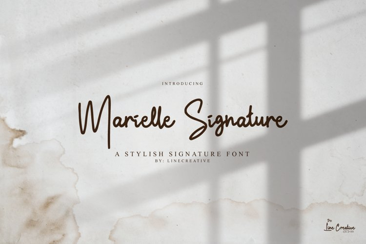 Marielle Signature example image 1