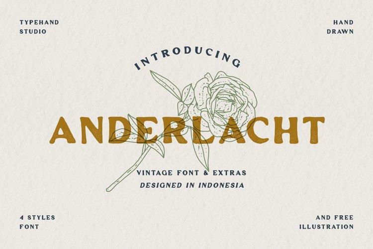 Anderlacht - Vintage Serif Extras