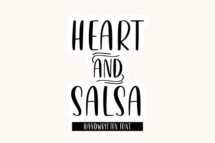 Heart & Salsa example image 1