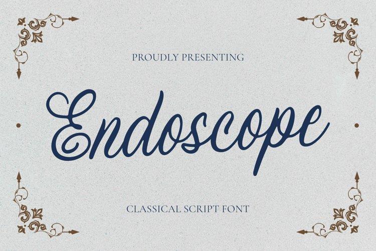 Endoscope Font