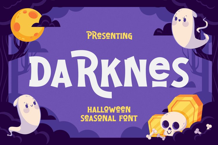 Darknes Font example image 1