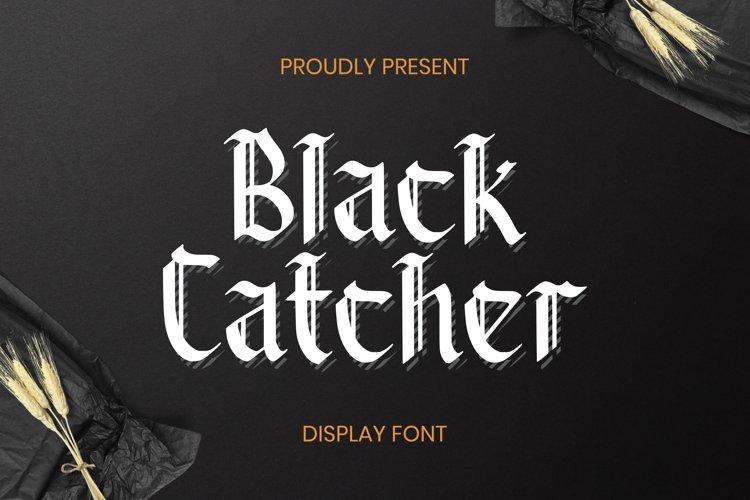 BlackCatcher Font example image 1