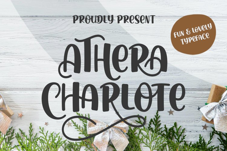 Athera Charlote Font example image 1