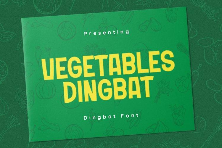 VegetablesDingbat Font example image 1