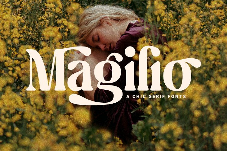 Magilio - A Chic Serif Fonts example image 1