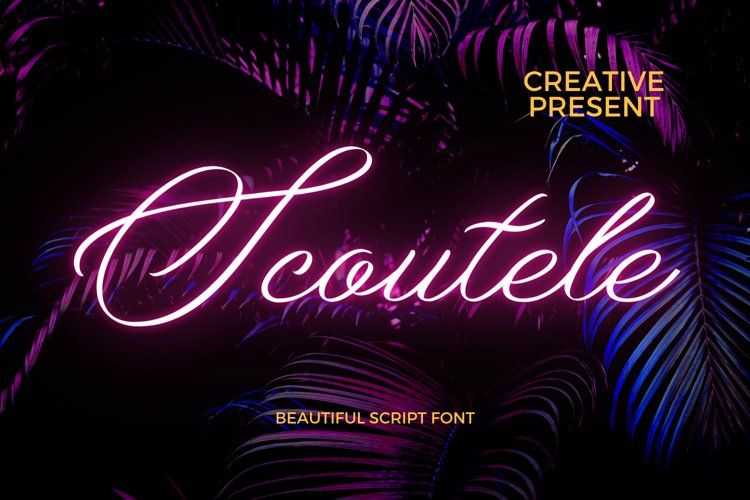 Scoutele Font example image 1
