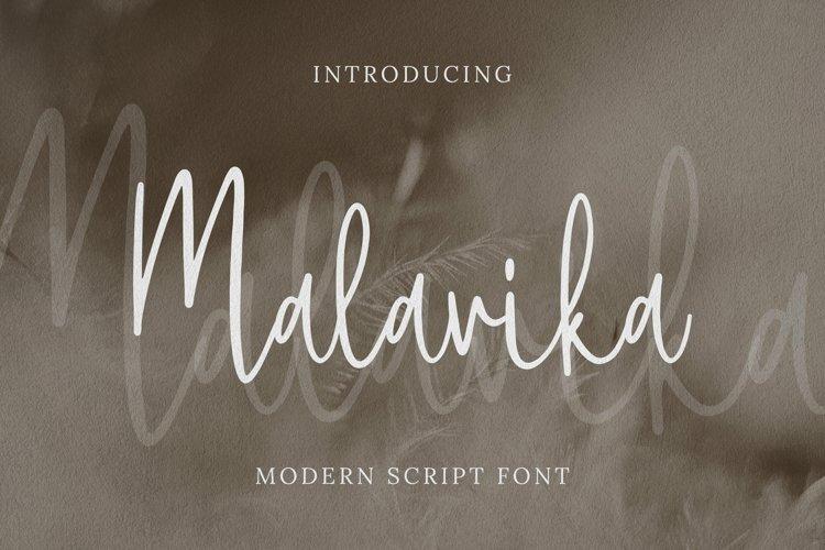 Malavika Font