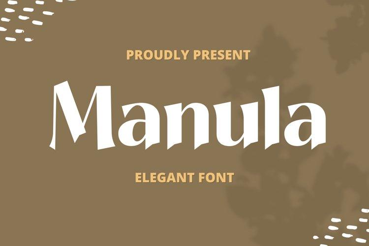 Manula Font example image 1