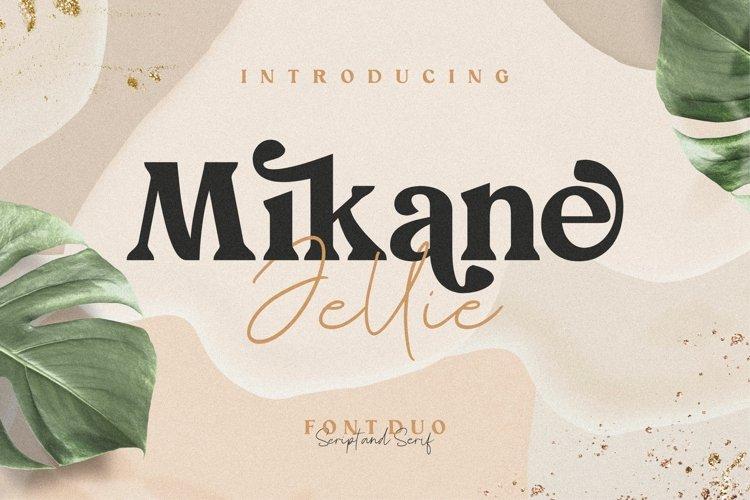 Mikane Jellie Font Duo Serif & Script example image 1