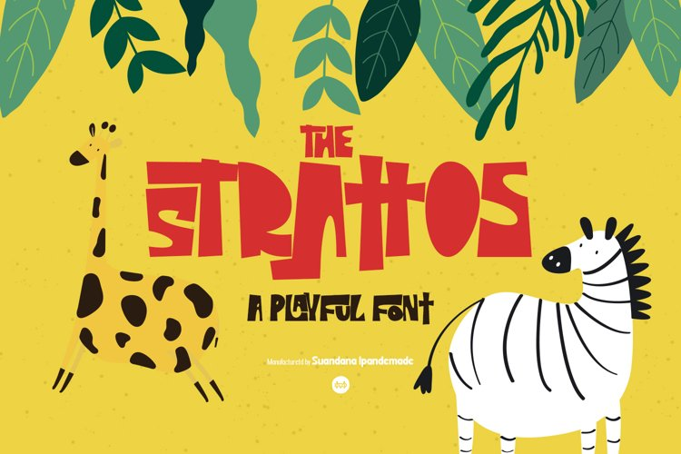 The Strattos - A Playful Font example image 1
