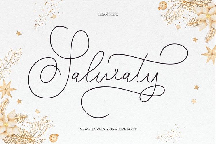 Salwaty signature