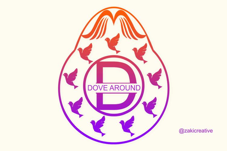 Dove Egg Monogram example image 1