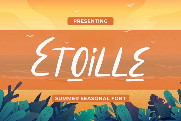 Etoille Font example image 1