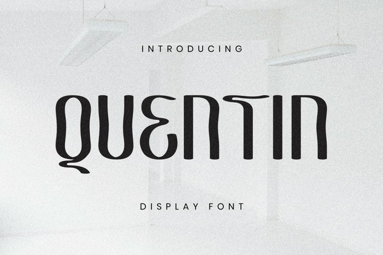 Quentin Font example image 1