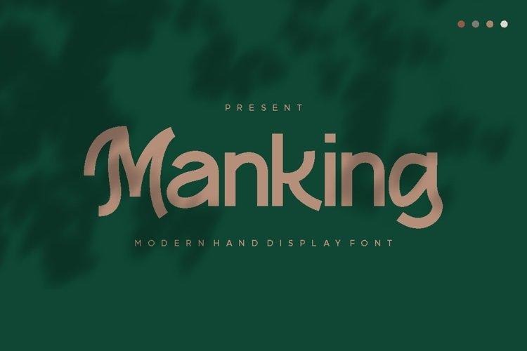 Manking Font example image 1