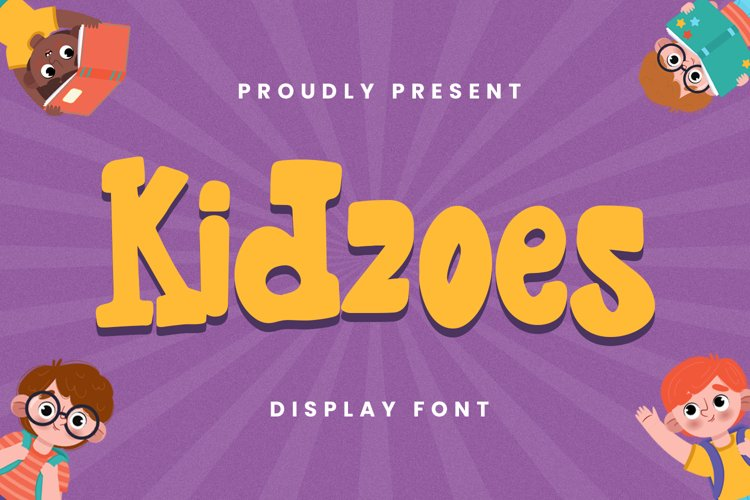 Kidzoes Font example image 1