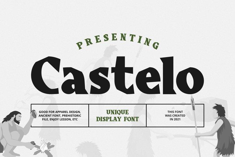 Castelo Font example image 1