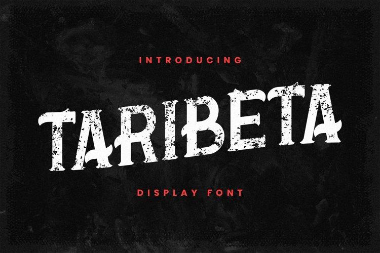 Taribeta Font example image 1