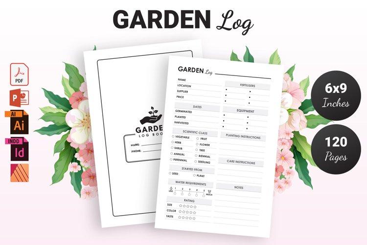 Garden Log Book - KDP Interior