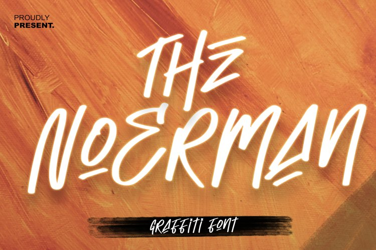 The Noerman - Graffiti font