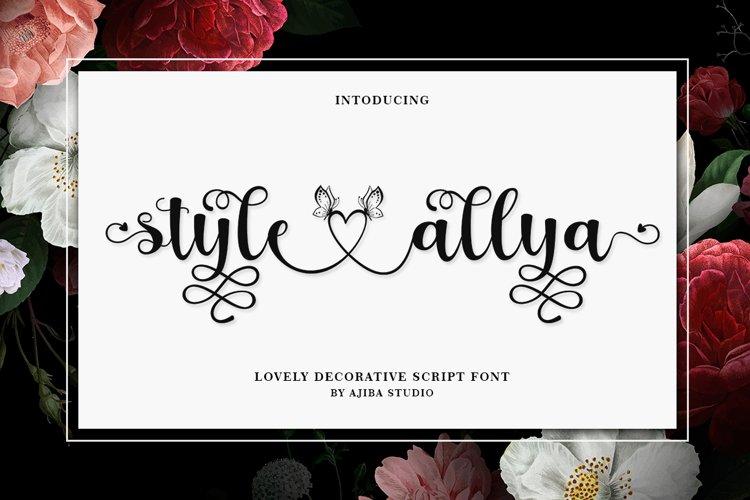 Style Allya example image 1