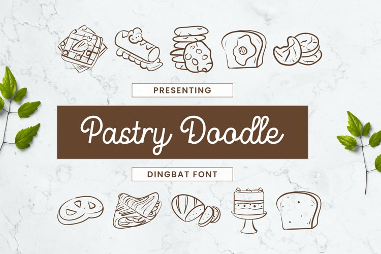 PastryDoodle Font example image 1