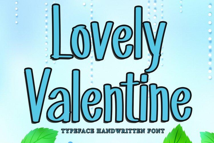 Lovely Valentine example image 1
