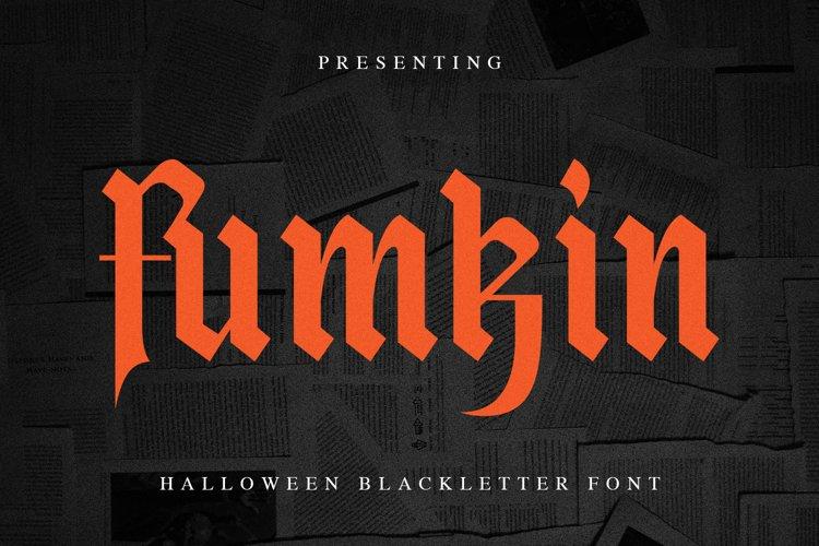 Fumkin Font example image 1