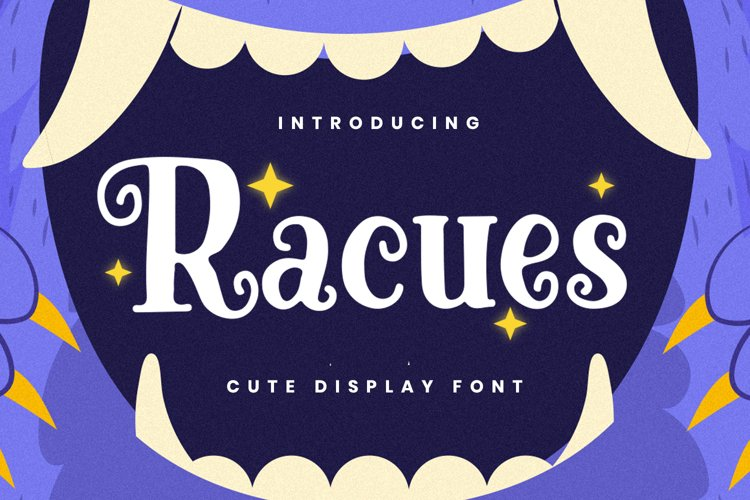 Racues Font example image 1