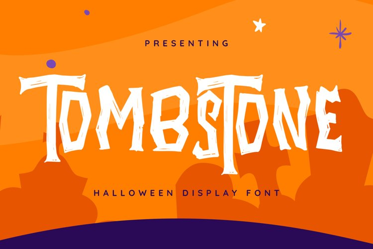 Tombstone Font example image 1