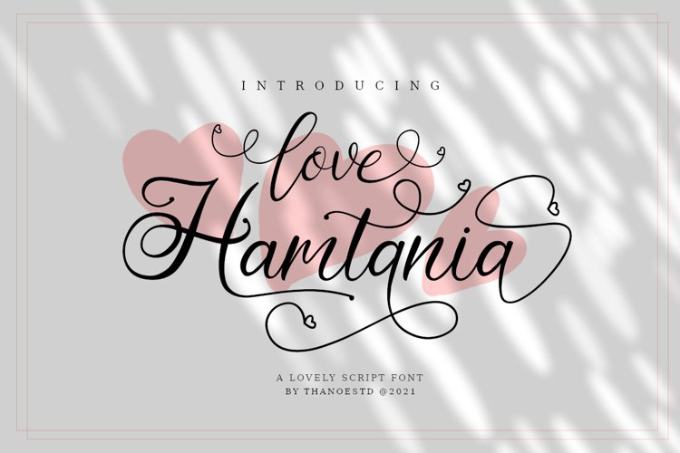Love Hamtania example image 1