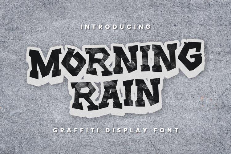 MorningRain Font example image 1