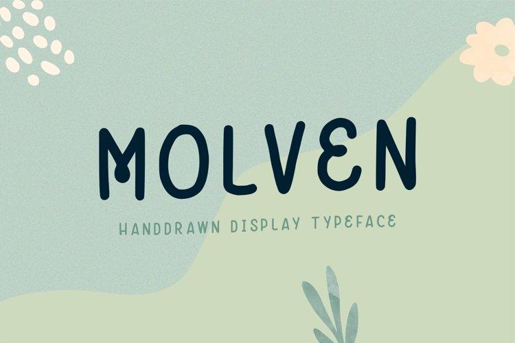 Molven - Natural Handdrawn example image 1
