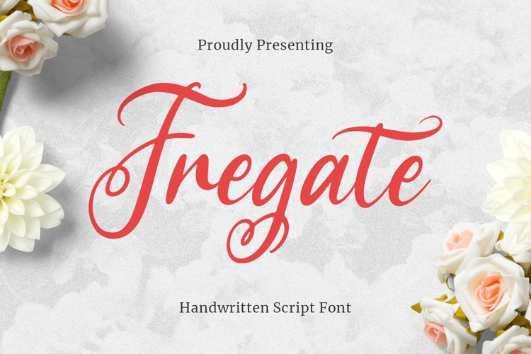 Fregate Font example image 1