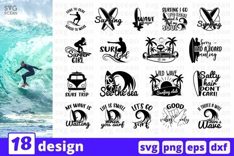 Surfing SVG Bundle | Surf Cut File | Summer