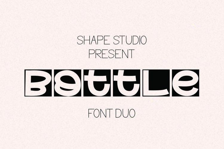 Bottle Handwritten Duo example image 1