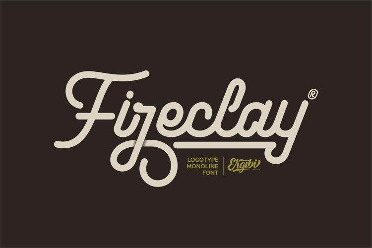 Fireclay - Logotype Monoline example image 1