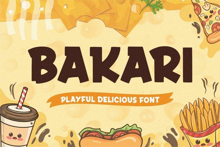 Bakari Display Font example image 1