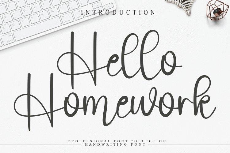 Hello Homework example image 1