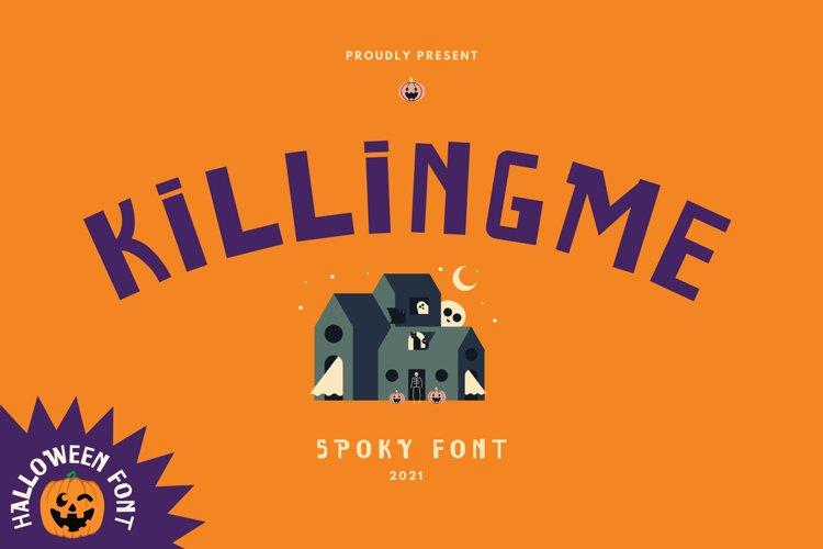 Killingme Font example image 1