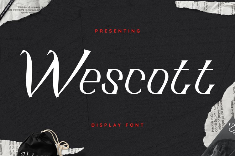 Wescott Font example image 1
