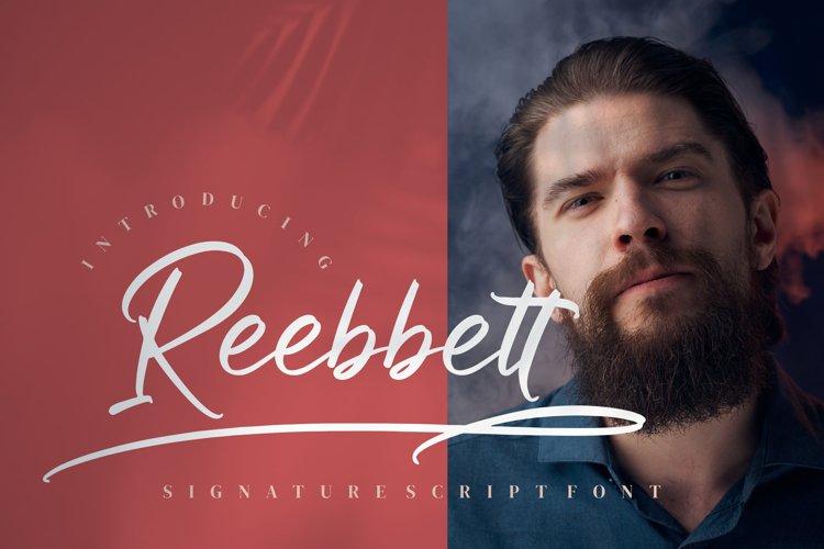 Reebbett example image 1