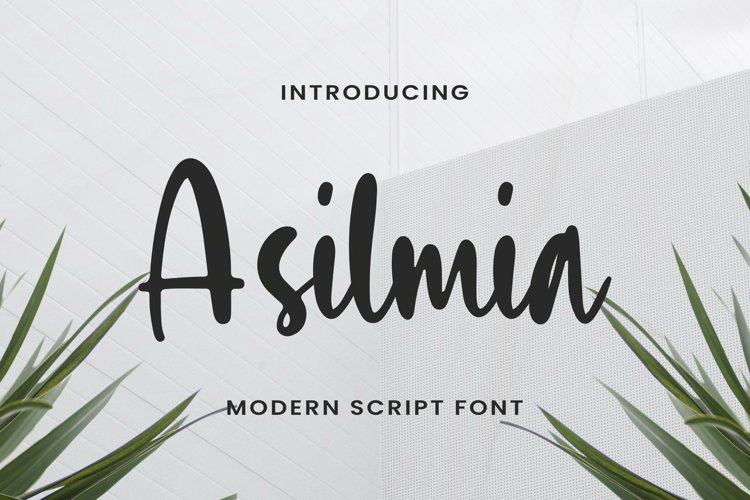 Asilmia Font