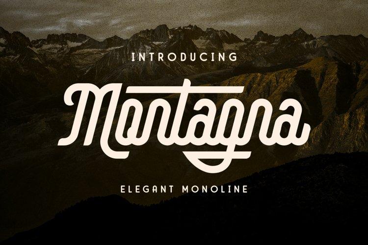 Montagna - Elegant Monoline example image 1