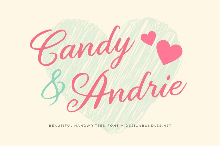 Candy & Andrie Font