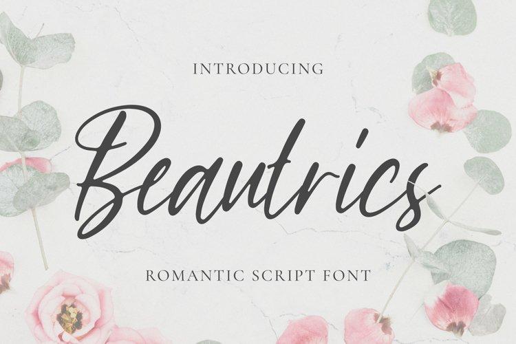 Beautrics Font