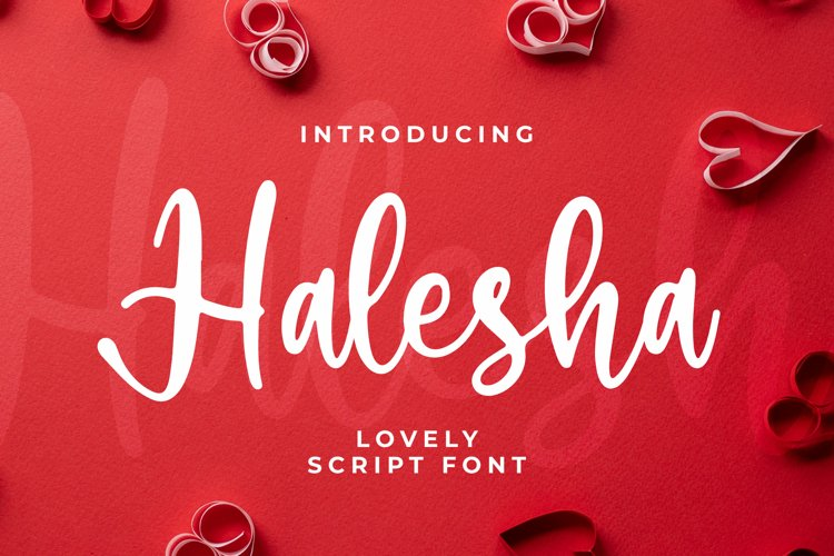 Halesha Font example image 1
